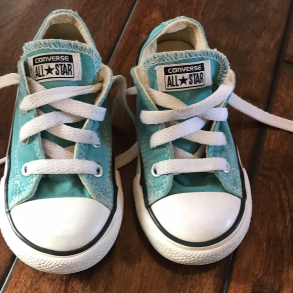 abefe996aac Converse Other - Teal Size 8 toddler Converse